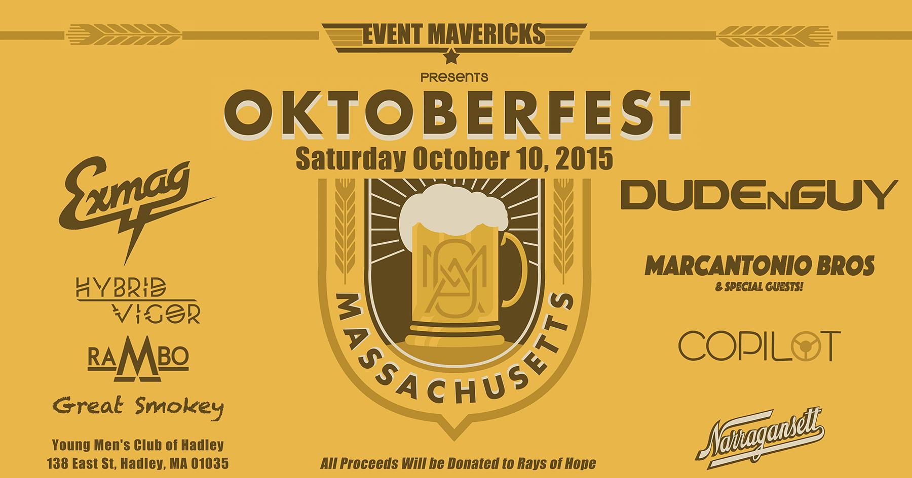 Oktoberfest Amherst 2015 Artist Lineup